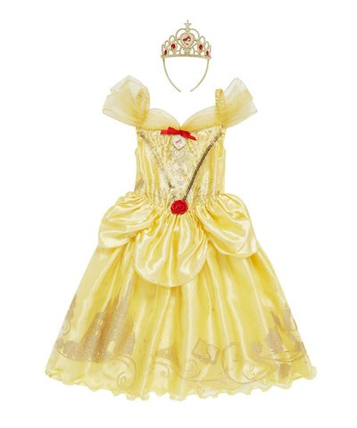 Disney Princess Story Teller Dress Up 3-4yrs - Belle