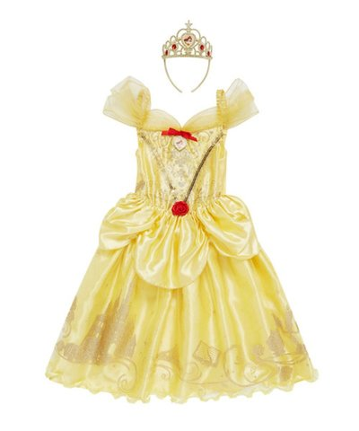 Disney Princess Dress Up 5-6yrs - Belle