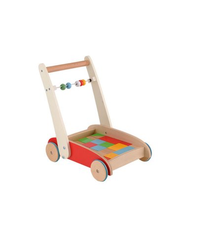 Wooden toddler truck