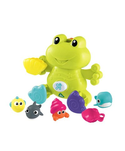 ELC Bathtime Squirting Frog And Friends