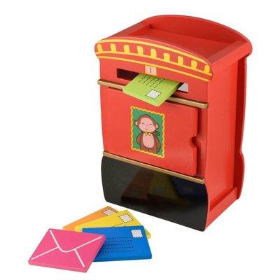 ELC Wooden Post Box