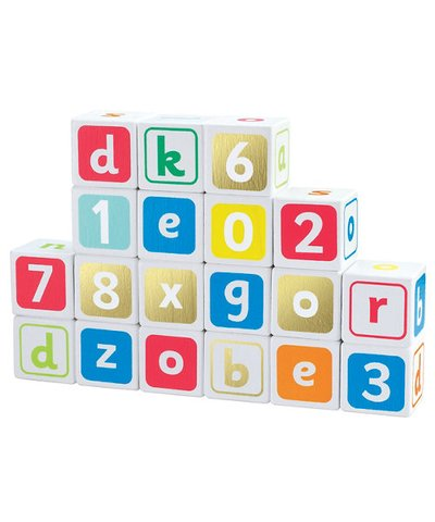 ELC Wooden Alphabet Blocks