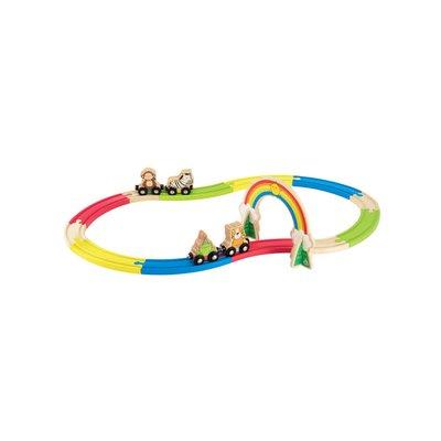 ELC Wooden Animal Train Set