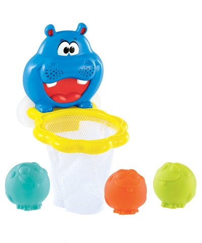 Hoop and Dunk Hippo