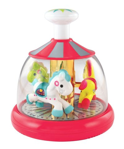 ELC Push and Spin Carousel