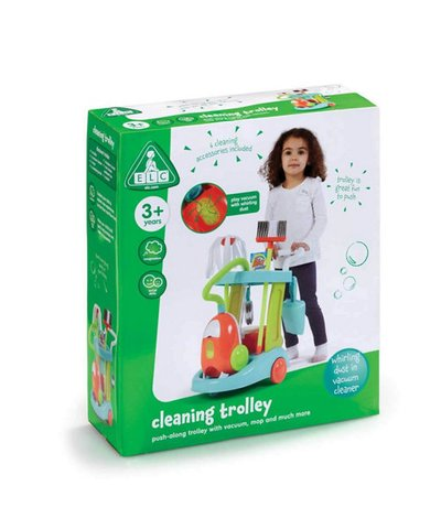 ELC Cleaning Trolley with Vacuum