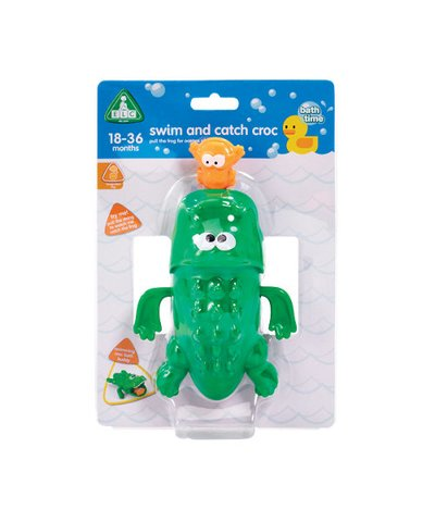 elc swim and catch crocodile