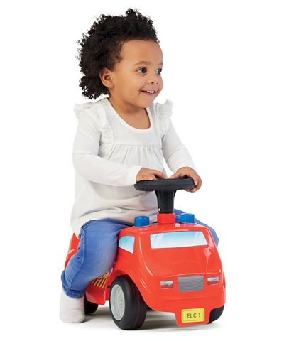 ELC Lights and Sounds Fire Engine Ride On