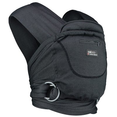 Caboo Cotton Blend Baby Carrier - Phantom