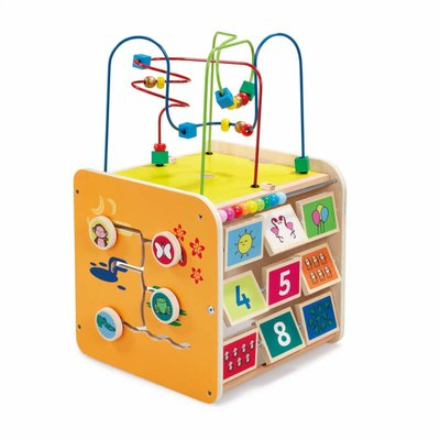 ELC Wooden Giant Activity Cube
