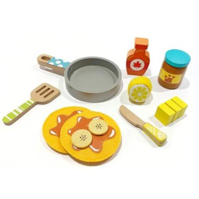 ELC Wooden Pancake Set
