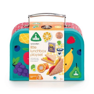 Early Learning Centre Wooden Lunchbox Set