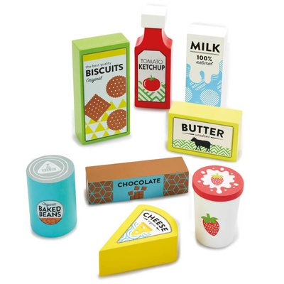 ELC Wooden Food Shopping Set