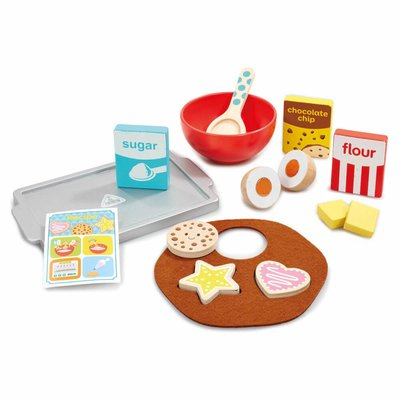 ELC Wooden Cookie Baking Set