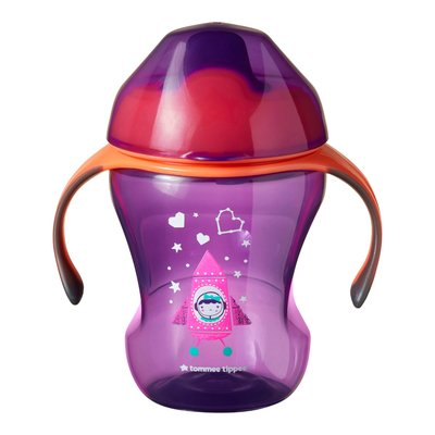 Tommee Tippee 7m+ 230ml Training Sippee Cup - Pink