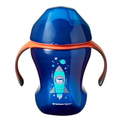 Tommee Tippee 7M+ 230ml Training Sippee Cup - Blue