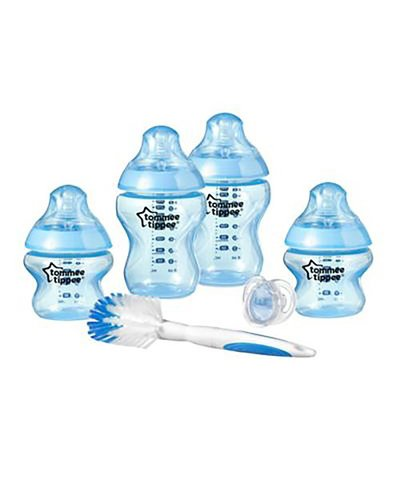 Tommee Tippee Closer to Nature Bottle Starter Kit - Blue