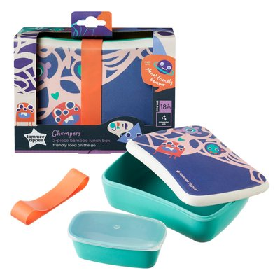 Tommee Tippee Bamboo Lunch Box - Default