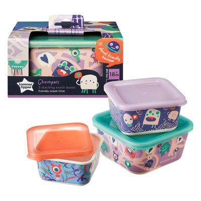 Tommee Tippee Bamboo Storage Box Set