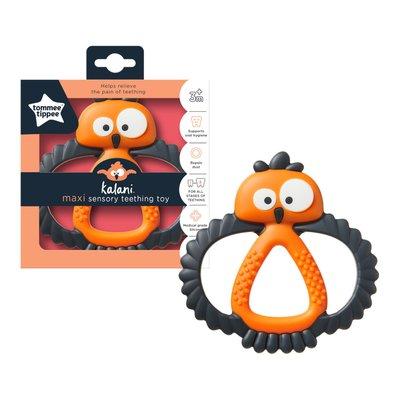Tommee Tippee Kalani Sensory Maxi Teether - Black/Orange