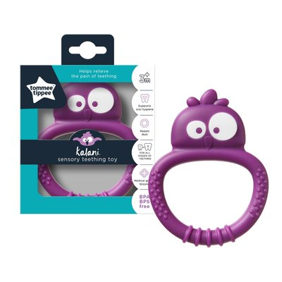 Tommee Tippee Kalani Sensory Mini Teether - Purple