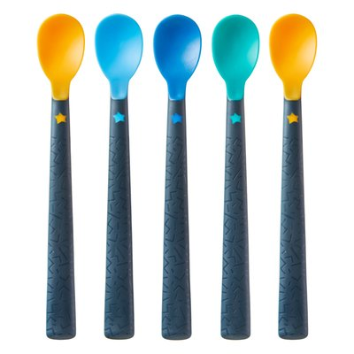 Tommee Tippee Softee Weaning Spoons 5 Pack