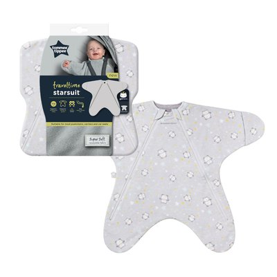 Tommee Tippee 0-6M 2.5 Tog Ollie the Owl Travel Star Suit