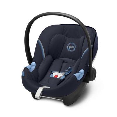 Cybex Aton M iSize Car Seat - Navy Blue