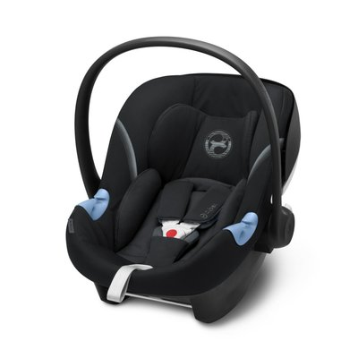 Cybex Aton M iSize Car Seat - Deep Black