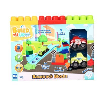 Build Me Up Blocks Racetrack (Styles Vary)