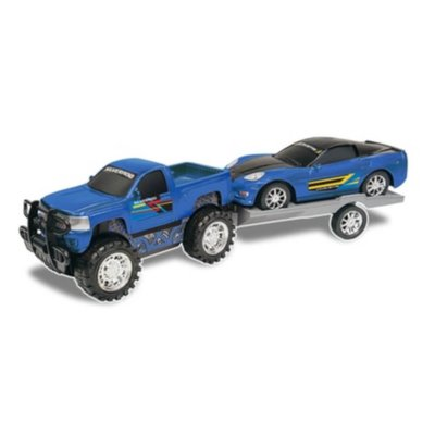 Truck and Trailer Blue
