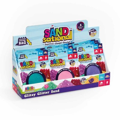 Sandsational Sand Glitter Sand Assorted