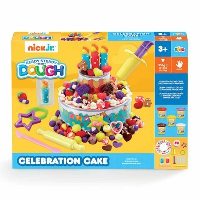 Nick Jr. Ready Steady Dough Celebration Cake