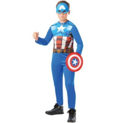 Marvel Avengers Captain America Fancy Dress Costume