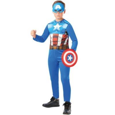 Marvel Avengers Captain America Fancy Dress Costume