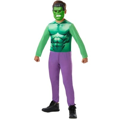 Marvel Avengers Hulk Fancy Dress Costume Box Set