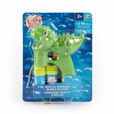 Out and About Musical Dinosaur Bubble Blaster