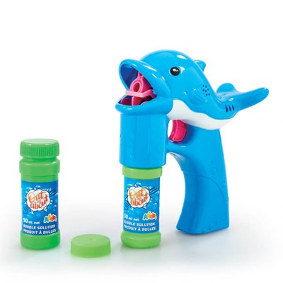 Out and About Musical Dolphin Bubble Blaster