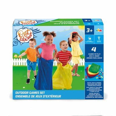 Out & About Outdoor 4-in-1 Games Set