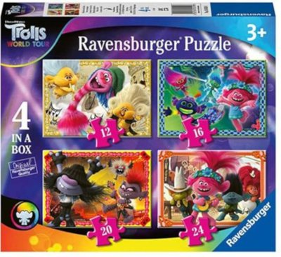 Trolls World Tour 4 In 1 Puzzle