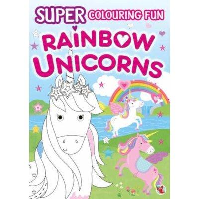 Super Fun Colouring Book - Rainbow Unicorns