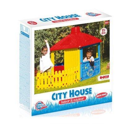 Dolu City House and Fence