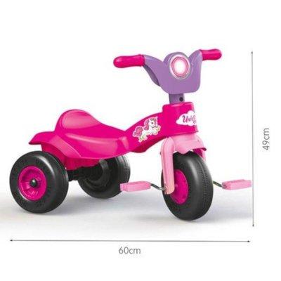 Dolu Unicorn Trike - Pink
