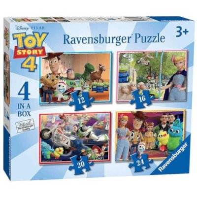 Ravensburger 4 in a Box Puzzles - Disney Pixar Toy Story 4