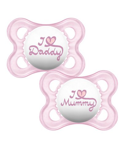 Mam Style 0+Month Soother - Pink