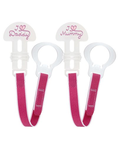 MAM Soother Saver Clips - 2 Pack