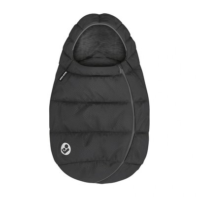 Maxi-Cosi Car Seat Footmuff - Essential Black