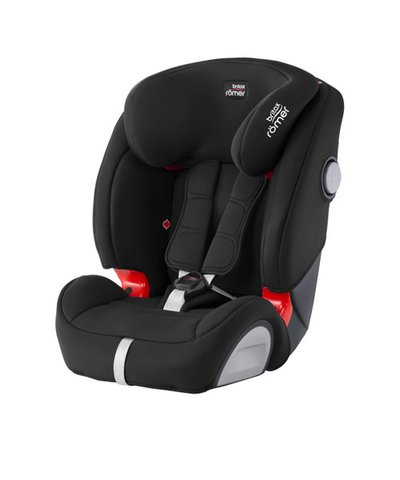 Britax Romer Evolva 123 SL SICT High Back Booster Car Seat with Harness - Cosmos Black
