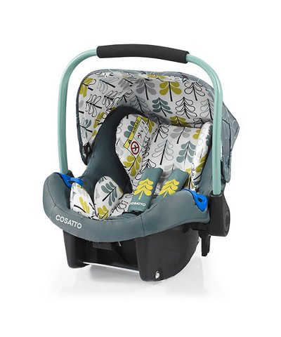 Cosatto Port 0+ Car Seat - Fjord