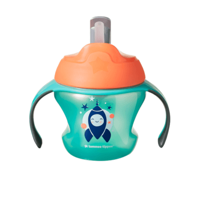 Tommee Tippee 6m+ Explora Weaning Straw Cup - Green